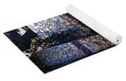 Fountain Of Color Yoga Mat