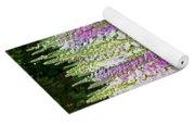 Foxglove Garden - Digital Art Yoga Mat