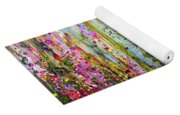 Foxgloves Large Painting Yoga Mat