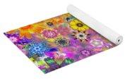Fractal Floral Study 3 Yoga Mat