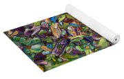Fragmented Spring Yoga Mat