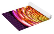 Framed Glass Spiral Yoga Mat