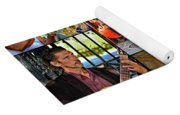 French Quarter Musicians Collage Yoga Mat