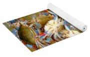 Fresh Crab In Market Yoga Mat