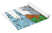 From Old To New York Yoga Mat