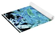From The Glory Of Trees Abstract Yoga Mat