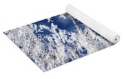 Frosted Weeping Willow Yoga Mat