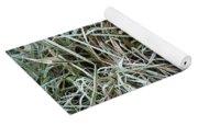 Frozen Grass - Ground Frost Yoga Mat