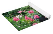 Garden Visitors Yoga Mat