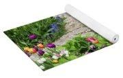Gardens Of Tulips Yoga Mat