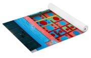 Geometric Art In Burano Yoga Mat