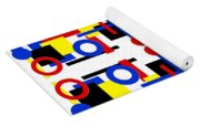 Geometric Shapes Abstract Square 2 Yoga Mat