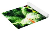 Geranium Leaves Yoga Mat