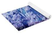 Glacier - Calving - Reflection Yoga Mat