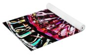 Glass Abstract 516 Yoga Mat