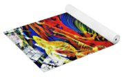 Glass Abstract 630 Yoga Mat
