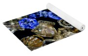 Glass Knobs Yoga Mat