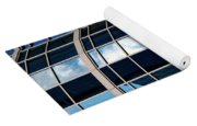 Glass Window Reflection Yoga Mat