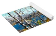 Glimpse Of Kalamalka Lake Yoga Mat