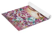 Goddess Of Good Fortune Yoga Mat
