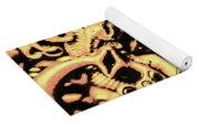 Gold Aquarium Yoga Mat