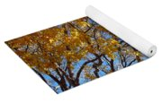Golden Boughs Yoga Mat