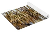 Golden Brown Pond Yoga Mat