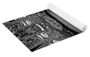 Golden Buddha Monochrome Yoga Mat