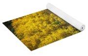 Golden Glow Yoga Mat