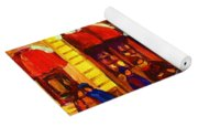 Golden Olden Days Yoga Mat