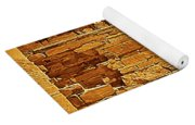 Golden Times Yoga Mat