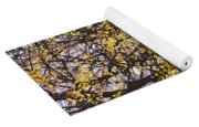 Golden Trees 1 Yoga Mat