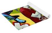 Graffiti 7 Yoga Mat