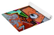 Graffiti London Style Yoga Mat