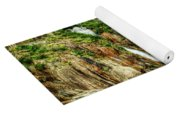 Granite Mountain Waterfall - Vintage Version Yoga Mat