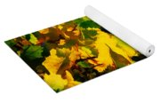Grape Leaves And The Sky Yoga Mat