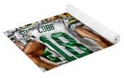 Green Bay Packers Team Art 2 Yoga Mat