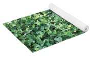 Green Clovers Yoga Mat
