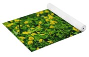 Green Field Of Yellow Flowers 1 Yoga Mat