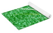 Green Streak Yoga Mat