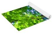 Green Trees 1 Yoga Mat