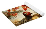 Greenwinged Teal Ducks Yoga Mat