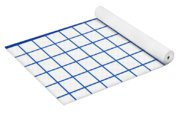 Grid Boxes In White 18-p0171 Yoga Mat