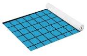 Grid In Black 18-p0171 Yoga Mat