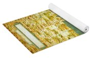 Gulf Of Mexico, States Of Central America, Cuba And Southern United States Yoga Mat