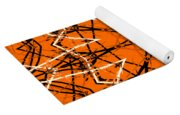 Halloween Kaleidoscope 12 Yoga Mat