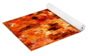 Happy Colors Abstract Yoga Mat