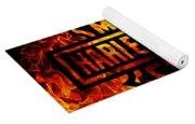 Harley Davidson Logo Flames Yoga Mat