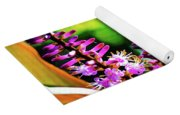 Hawaii Ti Leaf Plant And Flowers Yoga Mat