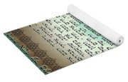 Hebrew Prayer For The Mikvah- Woman Prayer For Her Husband Yoga Mat